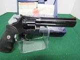 Scarce Blued Colt King Cobra 6 Inch Barrel 357 Magnum - 6 of 9