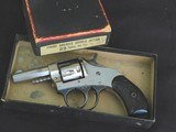 """1930's Harrington & Richardson """"Young American """" 22 cal. nickle plated in factory box - 1 of 15"""