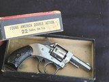 """1930's Harrington & Richardson """"Young American """" 22 cal. nickle plated in factory box - 2 of 15"""