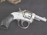 """1930's Harrington & Richardson """"Young American """" 22 cal. nickle plated in factory box - 3 of 15"""