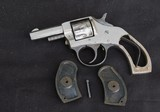 """1930's Harrington & Richardson """"Young American """" 22 cal. nickle plated in factory box - 12 of 15"""