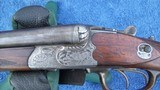 Krieghoff Montage Drilling 16 ga over 9.3X72R Rifle - 2 of 15