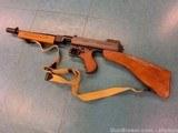 1928 Thompson Machine Gun--MINT---Transferable--45 ACP