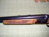 20 GA & 6.5X 58 1/2 COMBINATION GUN WITH BEAUTIFUL STOCK AND LOOKS AS NEW - 13 of 15