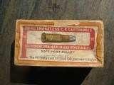 PETERS' .38-.40 SMOKELESS C.F. SOFT POINT BULLET CARTRIDGES