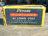 PETERS RUSTLESS .41 CAL. LONG COLT