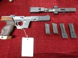WALTHER GSP TARGET PISTOL IN .22 & .32 WADCUTTER - 4 of 9