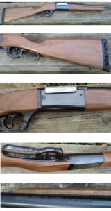 Savage 99 Series A 358 Winchester Brush Gun
