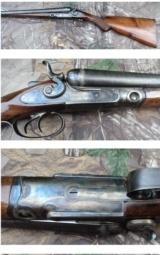 1883 Parker hammer gun 12 gauge