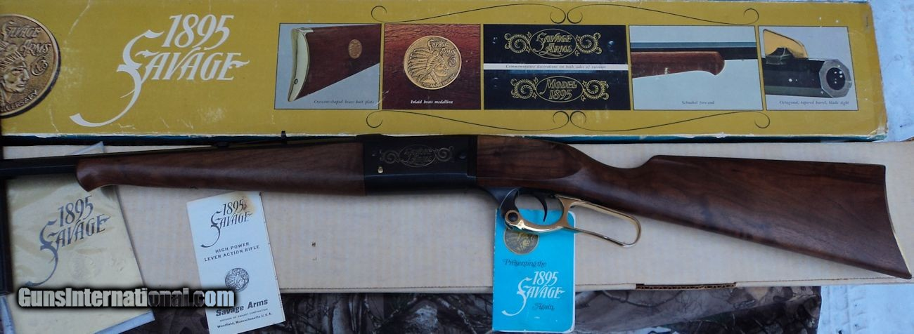 Savage 1895 75th Anniversary 308 Winchester for sale
