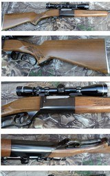 Savage 99 series A 243 Winchester