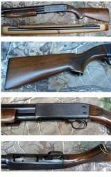 """Ithaca Model 37 12ga with """"NIB"""" 26"""" smoothbore slug barrel"""