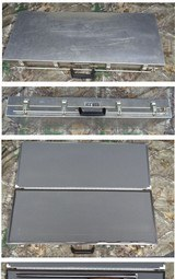 ICC aluminum double gun case