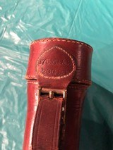 Vintage Redhead Leather Shot Gun Case - 7 of 8