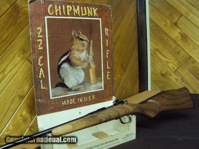 CHIPMUNK RIFLE