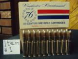 ASSORTED AMMO as SHOWN