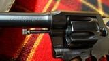 COLT / POLICE POSITIVE / 38 / 4inch barrel - 14 of 15