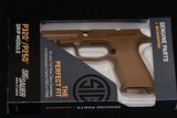 Sig Sauer Grip Module X Carry and Full Size 9/40/357 Coyote. New.