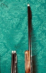 Krieghoff Model 32 Crown Top Single and Over/Under Engraved by Anton Reich
