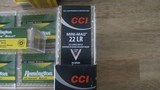 22 LONG RIFLE ammo 500 rounds cci,remington,winchester, aguila 110.00 per 500 rounds - 4 of 5