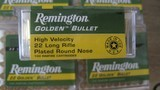 22 LONG RIFLE ammo 500 rounds cci,remington,winchester, aguila 110.00 per 500 rounds - 5 of 5