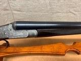 Charles Hellis & Sons 12 gauge Side Lock Game Gun-Beautiful Engraving - 13 of 15