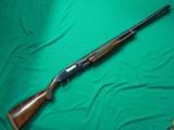 A FINE WINCHESTER MODEL 12 PIGEON GRADE TRAP GUN, 2 PIN VENT RIB. MADE IN 1959.