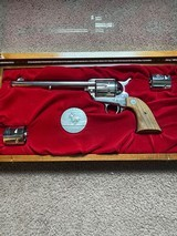 Colt single action Army commemorative pony express .45 cal - 1 of 14