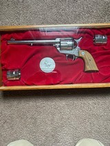 Colt single action Army commemorative pony express .45 cal - 3 of 14
