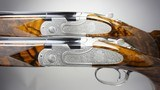 A pre-owned matched pair of Beretta Giubileo 28 gauge over & unders with 30 inch barrels