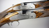 A pre-owned matched pair of Beretta Giubileo 20 gauge over & unders with 29 1/2 inch barrels