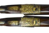 James Purdey left handed deluxe matched pair of 12 gauge side by side self opening shotguns - 5 of 11