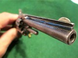 SMITH & WESSON MODEL 1, 3rd VARIANT (1868-1881) ANTIQUE 22short CALIBER REVOLVER – EXC. CONDITION - 5 of 13