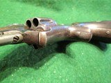 SMITH & WESSON MODEL 1, 3rd VARIANT (1868-1881) ANTIQUE 22short CALIBER REVOLVER – EXC. CONDITION - 9 of 13