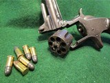 SMITH & WESSON MODEL 1, 3rd VARIANT (1868-1881) ANTIQUE 22short CALIBER REVOLVER – EXC. CONDITION - 7 of 13