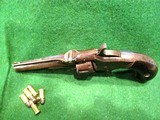 SMITH & WESSON MODEL 1, 3rd VARIANT (1868-1881) ANTIQUE 22short CALIBER REVOLVER – EXC. CONDITION - 3 of 13