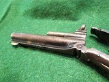 SMITH & WESSON MODEL 1, 3rd VARIANT (1868-1881) ANTIQUE 22short CALIBER REVOLVER – EXC. CONDITION - 11 of 13
