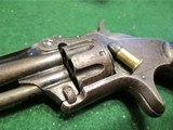 SMITH & WESSON MODEL 1, 3rd VARIANT (1868-1881) ANTIQUE 22short CALIBER REVOLVER – EXC. CONDITION - 8 of 13