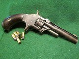 SMITH & WESSON MODEL 1, 3rd VARIANT (1868-1881) ANTIQUE 22short CALIBER REVOLVER – EXC. CONDITION - 2 of 13