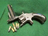SMITH & WESSON MODEL 1, 3rd VARIANT (1868-1881) ANTIQUE 22short CALIBER REVOLVER – EXC. CONDITION - 6 of 13
