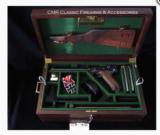 Luger Artillery Pistole Snail drum Magazine ***Trench Case***.