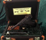 Luger P08 9mm Pistol Canvas Carry Travel Case. - 1 of 6