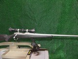 Ruger 77 Hawkeye in stainless steel, 338 Federal