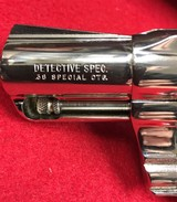 Nickel Colt Detective Special .38 SnubNose - 1 of 15