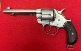 Antique Restored Colt 1878 Frontier DA .45 Nickel Finish with Colt Letter Manufactured in 1884