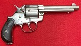 Antique Restored Colt 1878 Frontier DA .45 Nickel Finish with Colt Letter Manufactured in 1884 - 2 of 15