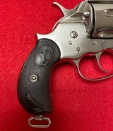 Antique Restored Colt 1878 Frontier DA .45 Nickel Finish with Colt Letter Manufactured in 1884 - 13 of 15