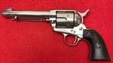 Vintage Colt Frontier Six Shooter SAA .44-40 1st Generation Nickel Finish Mfg in 1907