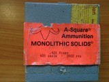 416 Rigby 400gn Monolithic Solids by A-Square - 2 of 2