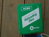 6 sets Reloading dies: 308, 222, 338, 30-30, 308 Mag, 338; RCBS, Pacific - 2 of 6